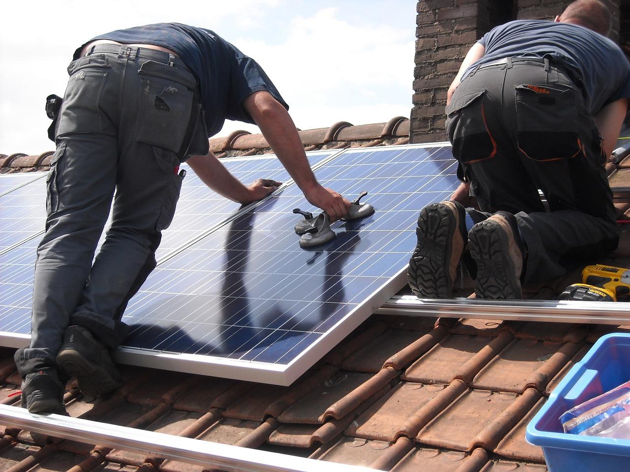 Is hagelschade op zonnepanelen mogelijk